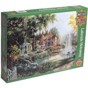Lakeside Hideaway Jigsaw Puzzle 1500pc Toys & Games