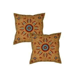Marvelous Design Ethnic Look Cotton Cushion Pillow Cover