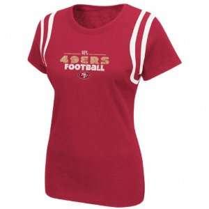 San Francisco 49ers Womens Lovin The Game II T Shirt