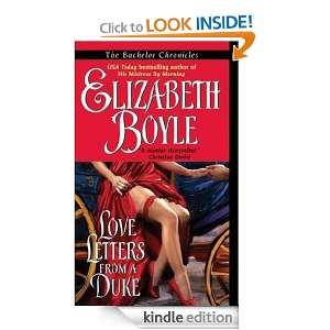 Love Letters From a Duke (Bachelor Chronicles) Elizabeth Boyle