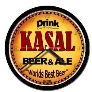 KASAL beer and ale cerveza wall clock: Everything Else