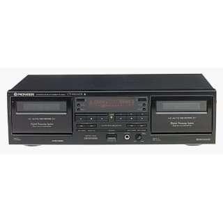 Pioneer CT W606DR   Dual cassette deck   black .co.uk