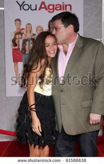 stock photo : LOS ANGELES   SEP 22: Madison Pettis & Andy Fickman