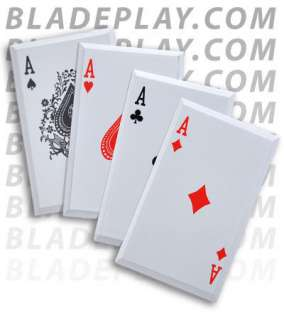 Aces Wild Throwing Cards   Blade Play
