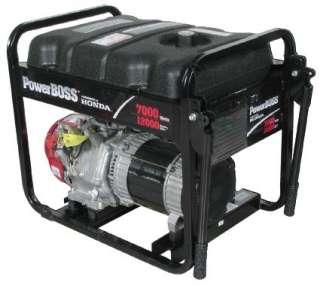 PowerBOSS 7000 Watt Generator 13 HP Honda #30220 R