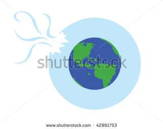 Earth With Broken Ozone Layer Stock Vector 42991753 : Shutterstock