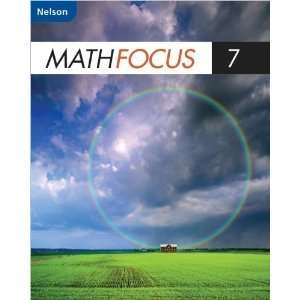 Nelson Math Focus 7 Student Book (9780176324643) Books