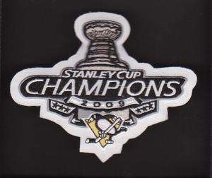 NHL 2009 STANLEY CUP CHAMPIONS PATCH PITTSBURGH PENGUINS
