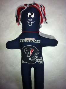 Houston TEXANS Dammit Doll Frustration Stress NFL