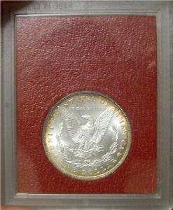 1897 Morgan Silver Dollar Redfield Paramount Hoard Collection Antique
