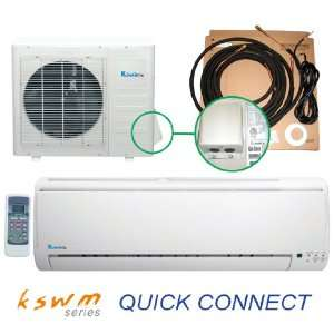 Ductless Air Conditioner Heat Pump  Quick Connect Tubing Kit 13 SEER