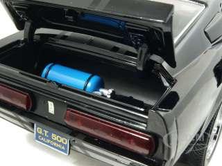 1967 SHELBY MUSTANG GT500 SUPER SNAKE BLACK 118