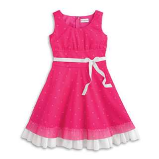 NEW American Girl Clothing Heart Valentine Day Dress for Girls Size 14