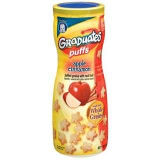 Gerber Graduates Puffs Apple Cinnamon   1.48 oz. 6 Pack.Opens in a new