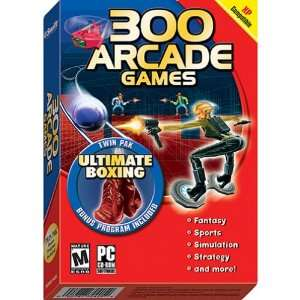 COSMI 300 Arcade Games/Ultimate Boxing Twin Pak (Windows
