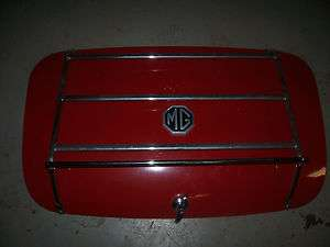 1972 MG Trunk Lid With Luggage Rack Vintage Restoration