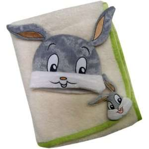 Baby Looney Tunes Infant Baby Blanket & Beanie Set Baby