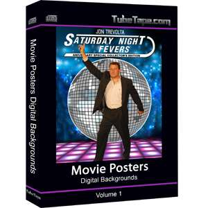Movie Poster Digital Backgrounds / Backdrops Chromakey