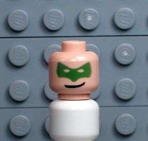 A203 NEW CUSTOM Lego Minifig Batman Joker Batgirl GREEN LANTERN HEAD W