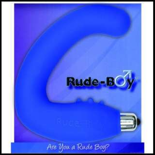 The Blue Rude Boy Prostate Health Massager 811041010053