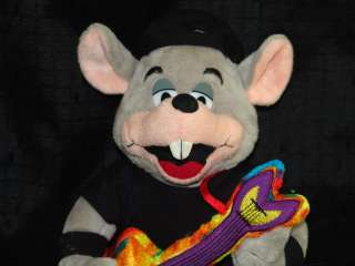 ROCK & ROLL GUITAR BIRTHDAY PARTY PLUSH CHUCK E CHEESE