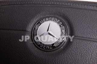 Mercedes Benz Black Logo Steering Wheel Badge C Class W201 W202 W203