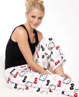 Hello Kitty Pajama Pants, Super Plush Pajama Pants
