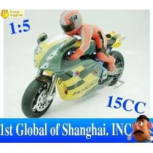 rc 15 nitro gas motorcycle motor bike super quick 15cc Toys & Games