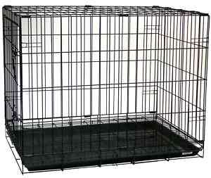New 30 Folding Dog Cat Kennel Cage Crate   SA30