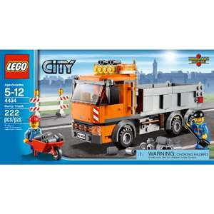 LEGO City Tipper Truck: Building Blocks & Sets