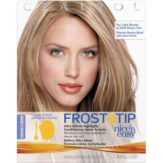 Clairol Nice n Easy Frost & Tip Hair Highlights, Creme 1 Kit: Hair