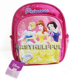Disney Princess 10 Shoulder Backpack School Bag Gift for Child