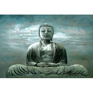 Oil Paintings on Canvas Art Buddha Painting 289: Everything Else