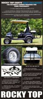 LIFT KIT+WHEELS+TIRES+SEAT CLUB CAR PRECEDENT GOLF CART