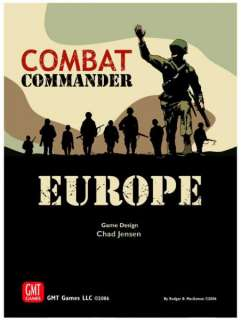 Combat Commander Europe Board Strategy Game by GMT NEW