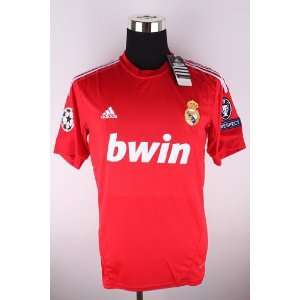 BRAND NEW REAL MADRID 2011 / 2012 CHAMPIONS LEAGUE JERSEY