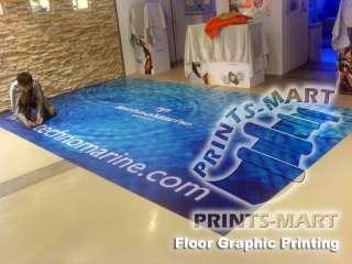 Sticker Printing Floor Graphic Vinyl Sticker Decal Sign