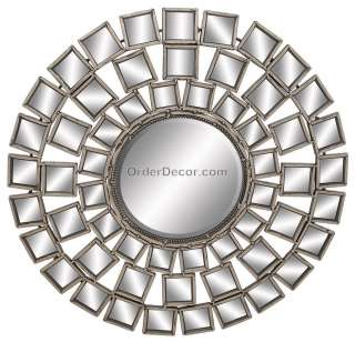 30 Abstract Contemporary Wall Mirror, Modern Metal Art
