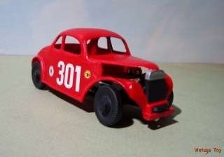 MODIFIED Ford Coupe Dirt Track race car w/case Vintage Racing
