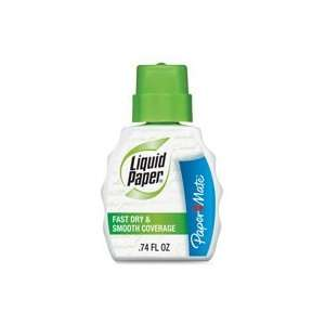 Correction Fluid, w/ Foam Brush, 22ml, White Qty:1: Office