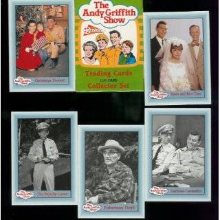 The Andy Griffith Show Trading Cards Complete Series 3 Set (110 cards