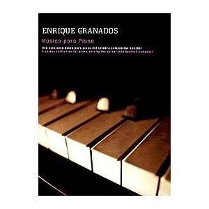 Enrique Granados Musica Para Piano