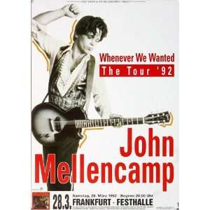 John Cougar Mellencamp   Whenever We Wanted 1992   CONCERT