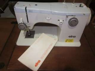 ELNA SUPERMATIC SEWING MACHINE FOR PARTS OR REPAIR
