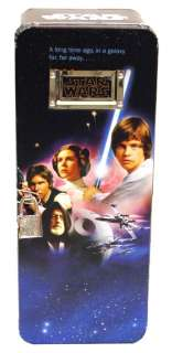 Star Wars   A New Hope   Lock & Key Foot Locker Tin Box