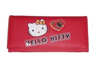 New Sanrio HELLO KITTY Red Wallet Purse Clutch Bag H13