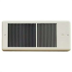 Low Profile 240v Fan Forced Wall Heater w/ Wall Box