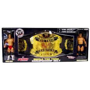 WWE Wrestling Exclusive RAW Tag Team Championship Belt with Lance Cade