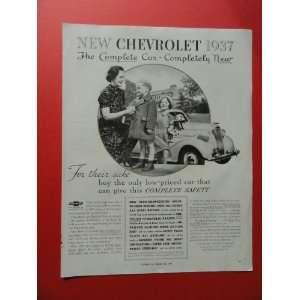 30s print ad (woman/girl/boy/rag doll.) Orinigal Magazine Print Art