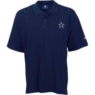 Dallas Cowboys Navy Cotton Polo Golf Shirt sz 4XL